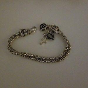 Jewelry - Fun Cross Charm Bracelet